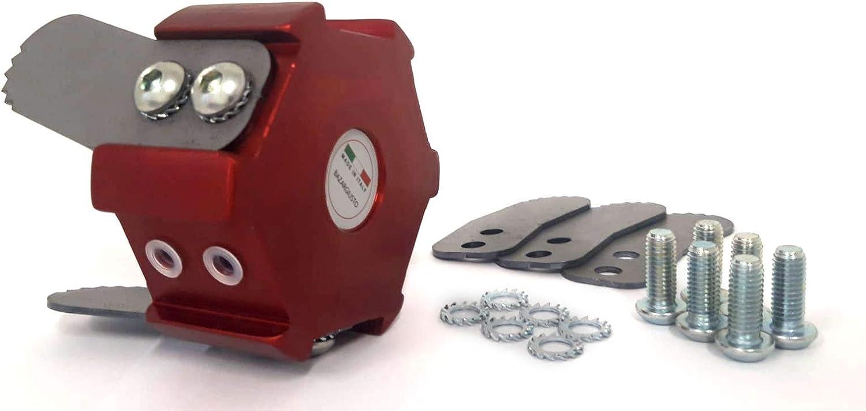 Cabezal de Fresa Universal para desbrozadora con Cuchillas de Acero Original BAZARGIUSTO + Kit de Cuchillas de Repuesto