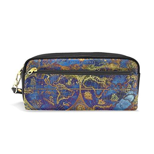 old world map bag - 3