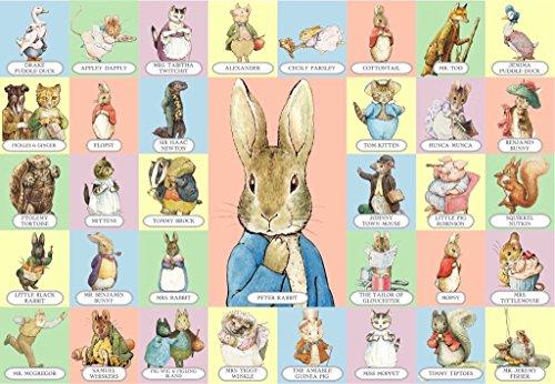 New York Puzzle Company - Beatrix Potter Peter Rabbit & Co - 60 Piece Jigsaw Puzzle by New York Puzzle Company (Image #2)