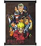 """Trigun Anime Fabric Wall Scroll Poster (32""""x42"""") Inches"""