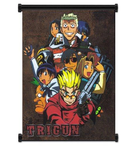 Trigun Anime Fabric Wall Scroll Poster (32