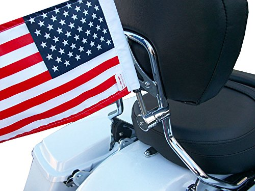(Pro Pad RFM-RDSB5 Fixed Motorcycle Flag Mount Kit and 6
