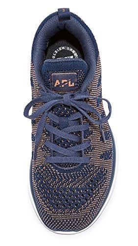 Apl: Laboratori Di Propulsione Atletica Womens Techloom Pro Sneakers Midnight / Rose Gold