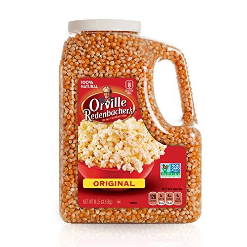 Orville Redenbacher's Gourmet Popcorn Kernels, Original Yellow, 8 lb Now $11.49 (Was $19.94)