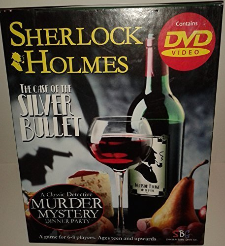 Sherlock Holmes the Case of the Silver Bullet DVD Murder Mystery Game by Specialty Board Games, Inc