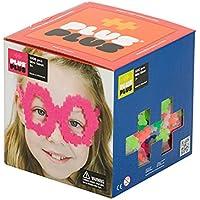 Plus-Plus - Open Play Set - 1200 Piece - Neon Color Mix