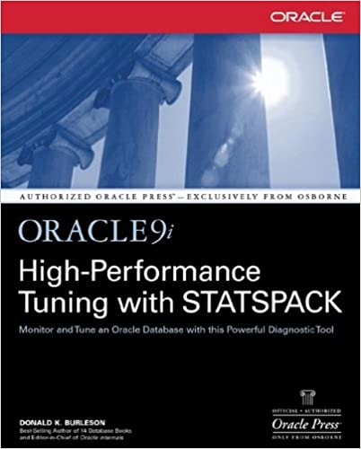 Amazon com: Oracle9i High-Performance Tuning with STATSPACK