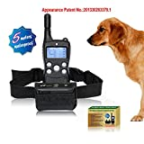 C&J Pet Supplies Dog Stop Barking Collar with Remote