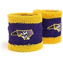 East Carolina Purple and Gold Wristbands with Pirate State of Mind Logo ECU
