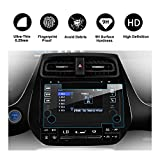 RUIYA 2016 Toyota Prius 7-Inch In-Dash Screen Protector, HD Clear Tempered Glass Car Navigation Screen Protective Film