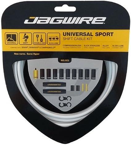 NEW Jagwire Universal Sport Shift Cable Kit Black