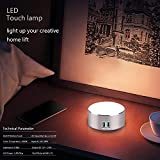 Smart LED Bedside Phone Charger,Dimmable Bedside