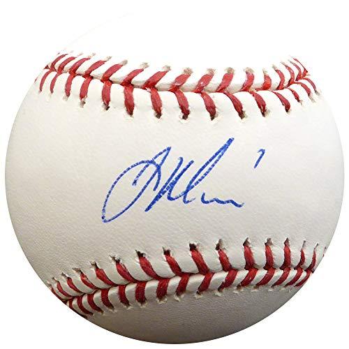 Joe Mauer Autographed Official MLB Baseball Minnesota Twins Steiner Holo Stock #112646