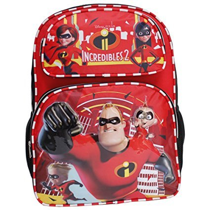 Disney The Incredibles 2 Black & Red 16