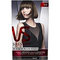 Vidal Sassoon Salonist Permanent Hair Color Kit 1 Application (5/0 Medium Neutral Brown)