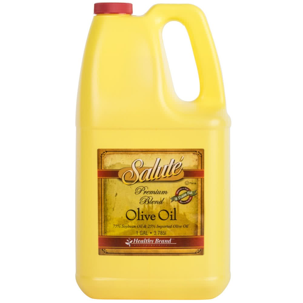 TableTop King Salute Brand 1 Gallon Premium Blend Soy Salad Oil - 6/Case by TableTop King