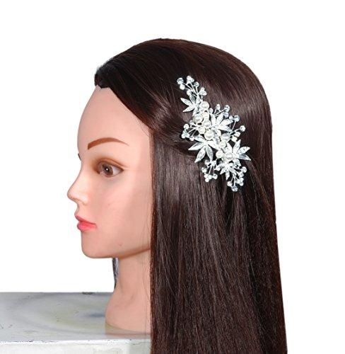 Vogue Hair Accessories Copper Base Hair Pin ... (Silver)