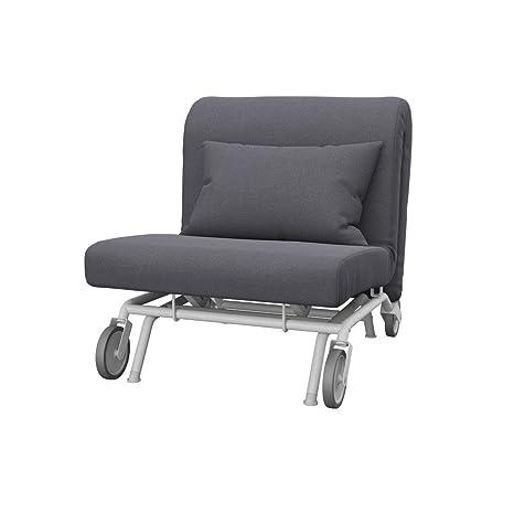 Soferia - IKEA PS Funda para sillón, Classic Dark Grey ...