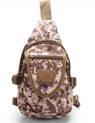 HWB/ 8 L Gurttaschen & Messenger Bags Camping & Wandern Draußen Wasserdicht / Multifunktions Tarnfarben 630D Nylon