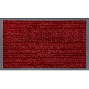 Jinwen 120036 Entrance Rug Floor Mats Washable Indoor/Outdoor Low Profile  Doormat Shoe Scraper Doormat