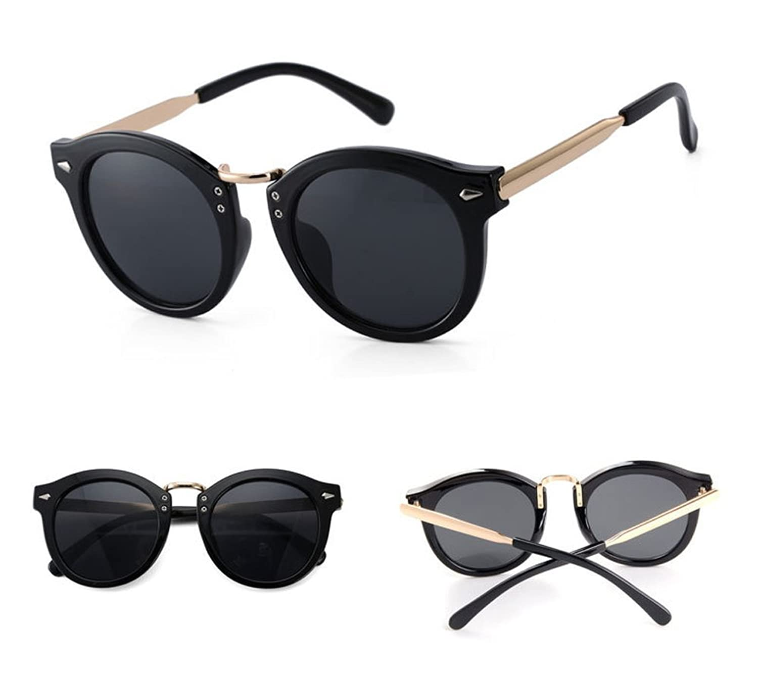 Colorful sunglasses retro sunglasses glasses Korea