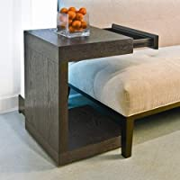 Sunpan Modern Bachelor TV Table, Espresso