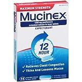 Mucinex Max Strength Expectorant (Pack of 4)