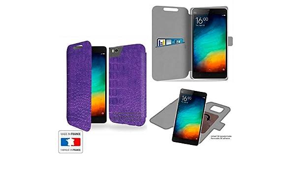 Funda Carcasa Xiaomi Mi4C Ultra violet Collection cocodrilo de ...
