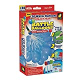 Battle Balloons 120 Balloons Freaky Fast Water Balloon Maker Kit 3 Bundles Red Blue Green Bulbhead As Seen on TV
