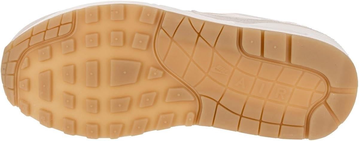 Nike Air Max 1 Premium SC Women (SUMMIT WHITEMTLC GOLD STAR LIGHT BONE) AA0512 100