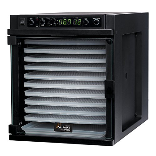 Tribest Sedona Express SDE-P6280-F Digital Food Dehydrator - 220 VOLT NOT FOR USE IN THE US
