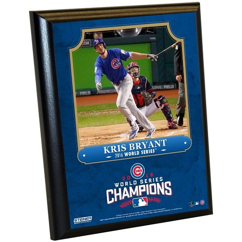 MLB Chicago Cubs Kris Bryant Plaque with Game Used Dirt from Wrigley Field, 8