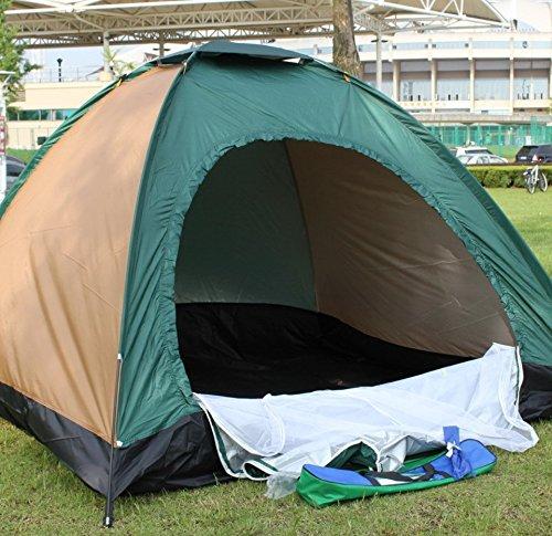 Zelt im Freien für 4 Personen Vierfach-Zelt für Winddichtes regendichtes Moskito-Beweis UVzelt ZXCV