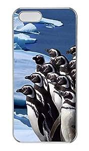 Lmf DIY phone caseiPhone 5 5S Case Penguins PC Custom iPhone 5 5S Case Cover TransparentLmf DIY phone case