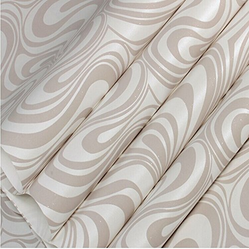 Qihang modern luxury abstract curve 3d wallpaper roll for Luxury 3d wallpaper