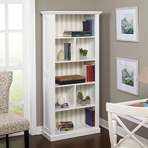 Simple Living Holland Bookcase with Reversible Back -