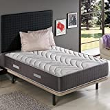 ZENG - Visco Royal Graphene Memory Foam Mattress. Medium Firmness Level. 11 Inch, Twin