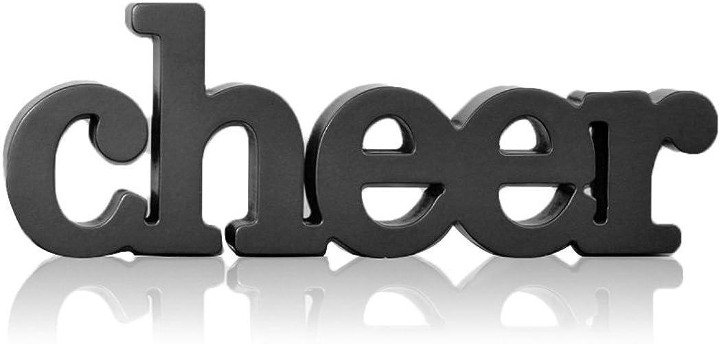 ChalkTalkSPORTS Cheer Wood Words   Shelf and Desk Décor   Wood Sign