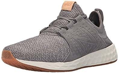 New Balance Men\u0027s Fresh Foam Cruz Running Shoe, Castlerock/Sea Salt, 7 D