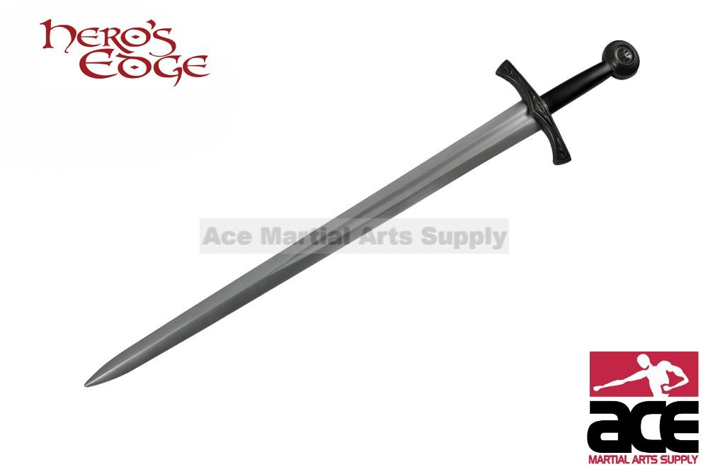 28 '' Foam Padded Medieval Crusader Arming Sword LARP by Hero's Edge