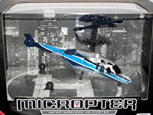 Propel RC Micropter - Wireless Micro Helicopter--Blue and Silver
