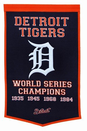 MLB Detroit Tigers Dynasty Banner