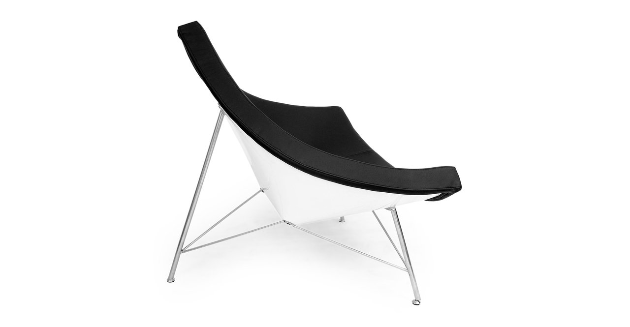 Amazon.com: Kardiel Coconut Chair, Black Standard Genuine Leather: Kitchen & Dining