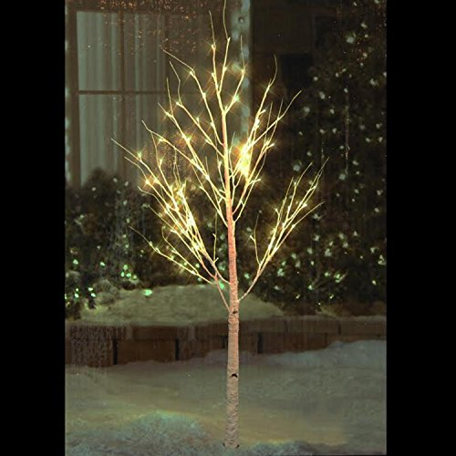 Northlight Pre-Lit Christmas Twig Tree Outdoor Yard Art D...