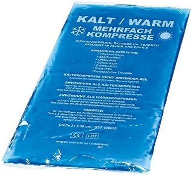 Compresa Fría Caliente (21 x 38 cm) compresas – Cool Pack de frío ...