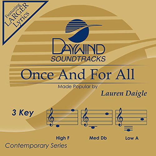 Music : Once And For All [Accompaniment/Performance Track]