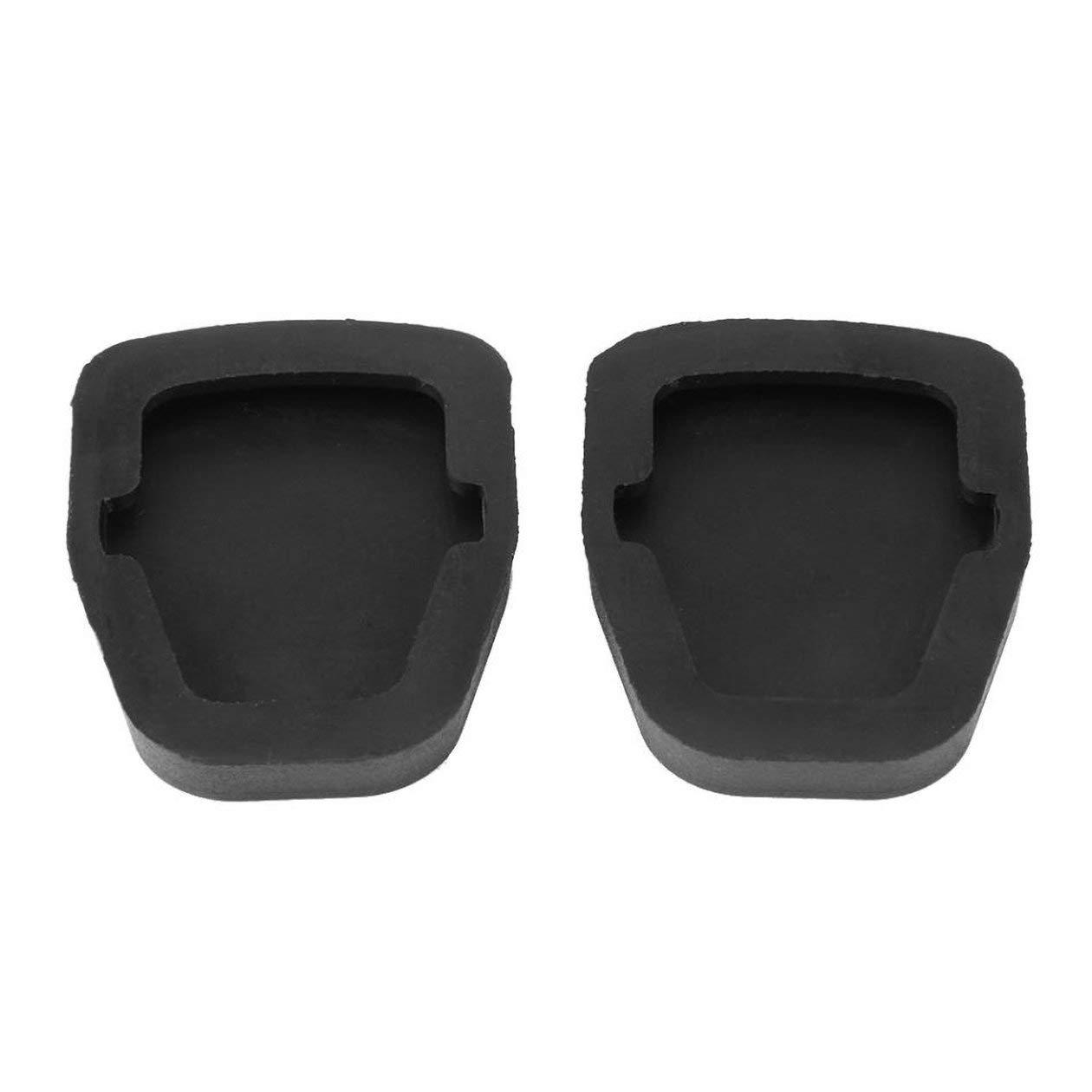 couleur noire 2 plaquettes de p/édale dembrayage de frein pour OEM Subaru Forester Impreza Legacy Outback WRX
