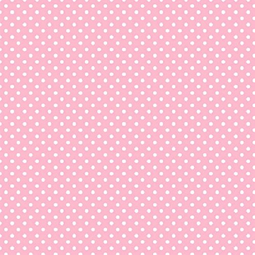 New Pink Polka Dot Jumbo Gift Wrap ()