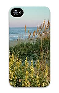 iPhone 4 4S Case Beach Grass 3D Custom iPhone 4 4S Case Cover