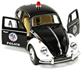 5 Classic Volkswage 1967 Beetle Police car 1:32